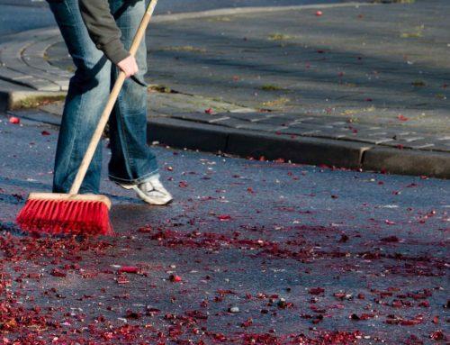 Een schoon begin van 2019: met een opgeruimde straat het nieuwe jaar beginnen!