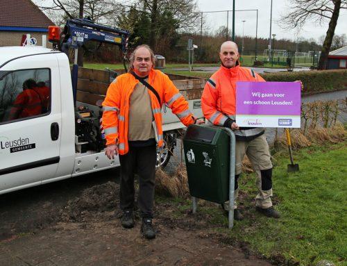 Opgeruimd Leusden start campagne voor een schone sportomgeving!