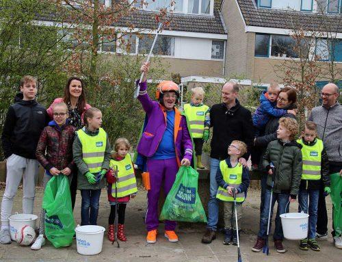 Opschoondag in Leusden: 45 volle vuilniszakken