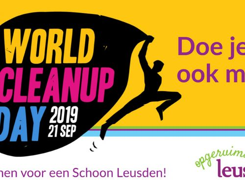 World Cleanup Day en Leusden doet mee!